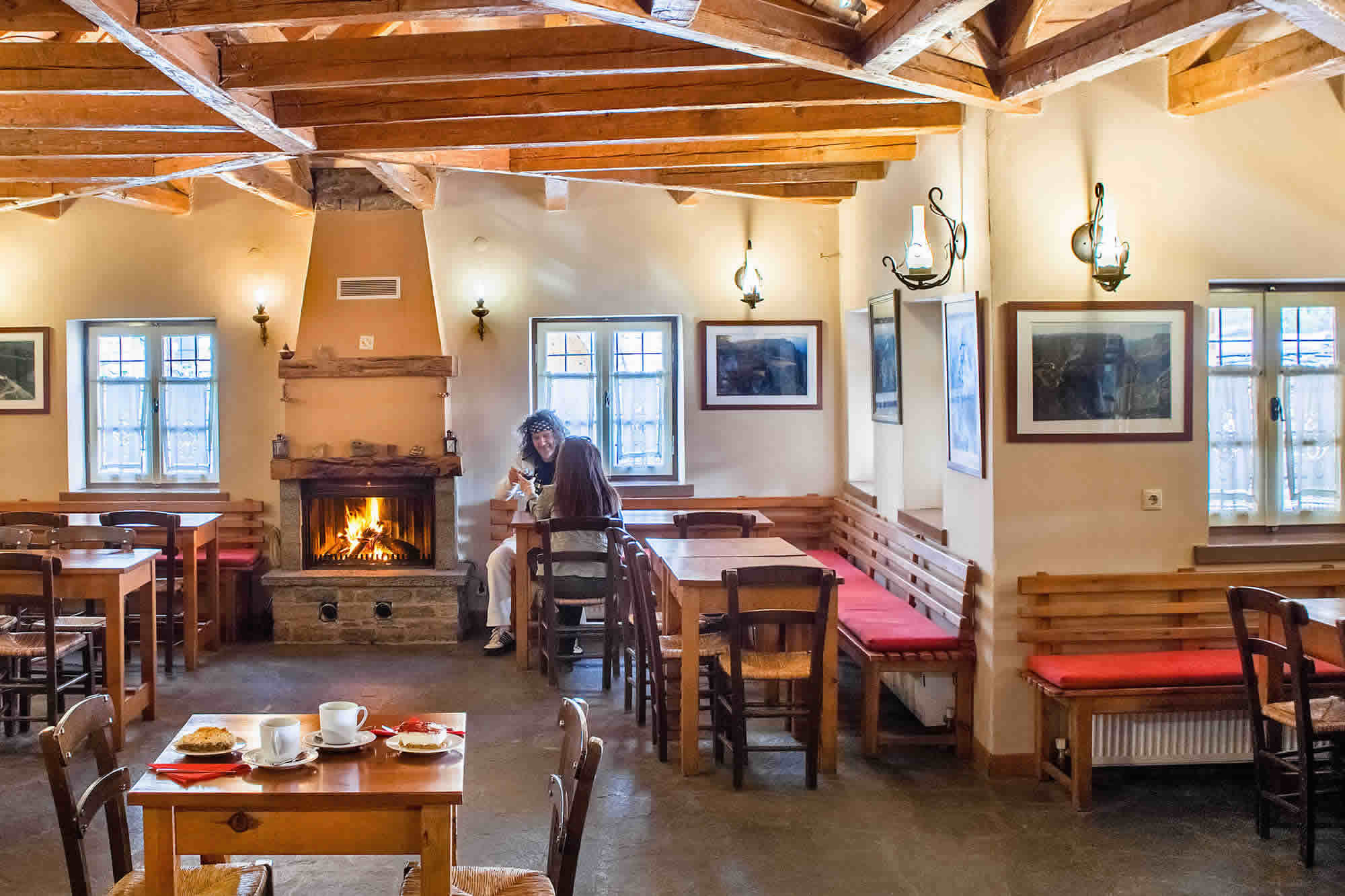 DIAS restaurant in Papigo, Zagori is famous for its delicious soups among other delicacies